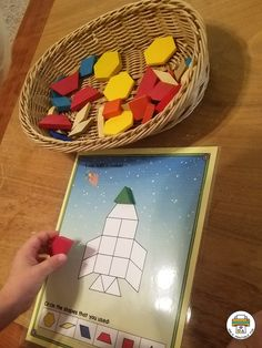 Transportation Pattern Block Mats - Pre-K Printable Fun Outer Space Activities, Transportation Preschool Activities, Transportation Theme, Build Math, Ocean Themes, Space Theme, Teacher Hacks, Pattern Blocks, Early Learning