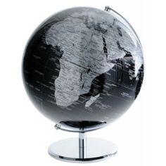 globe d co noir h 24 cm whale meubles et objets d coratifs pinterest s jour meubles et objet. Black Bedroom Furniture Sets. Home Design Ideas