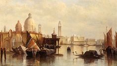 James Holland, A View of Venice