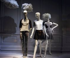 """Saks Fifth Avenue, NY, """"i told you Helen, Suzy always has her head in the clouds"""", pinned by Ton van der Veer"""