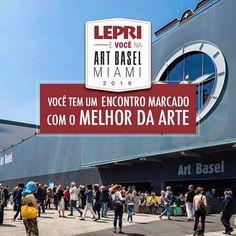 Chagamos a RETA FINAL da nossa Campanha!!     Corra ainda dá tempo de participar Lepri e Você na Art Basel Miami 2016.  Quem especificar produtos Lepri nas lojas participantes acumula pontos e pode ganhar uma viagem para a Art Basel em Miami, uma das mais importantes feiras de arte do mundo! IMPORTANTE ATÉ 31 de outubro. Válida para todo Brasil, para saber a loja mais próxima de você, acesse www.artbasel.com.br ou envie o email para sac@lepri.com.br. Confira também o regulamento completo e…