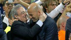 Real Madrid: El compromiso moral de Zidane con Florentino | Marca.com http://www.marca.com/futbol/real-madrid/2017/05/06/590cbe83268e3e99118b45fc.html