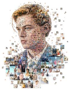 "A mosaic portrait of Leonardo DiCaprio made out from photos from his films. Crated by Charis Tsevis for GLAMOUR magazine UK. You can read their magazine feature here You could also try to win a signed poster here. Best viewed large. Attention: Big file. (9208 x 11776 = 30.7"" x 39.3"" @ 300 ppi) Made with custom developed scripts, hacks and lots of love, using my Mac, Studio Artist, the Adobe Creative Suite and good music from Leo's soundtracks. See all my Editorial Illustrations. Many th..."