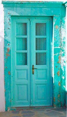 48 ideas exterior paint colours for house turquoise colour Turquoise Door, Shades Of Turquoise, Bleu Turquoise, Shades Of Blue, Aqua Blue, Aqua Door, Exterior Paint Colors, Paint Colors For Home, Paint Colours
