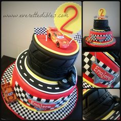 Cars Cake 5-2014 | Flickr - Photo Sharing!