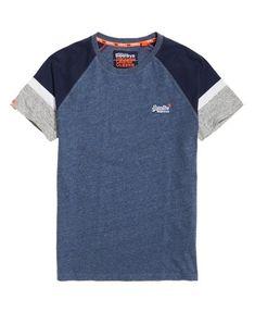 Superdry Engineered Baseball Short Sleeve T-Shirt - Men's T Shirts Denim Shirt, Polo Shirt, Tee Shirts, Shirt Men, Baseball Shorts, Camisa Polo, Superdry, Mens Tees, Cool T Shirts