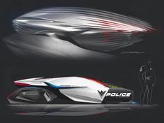 BMW ePatrol Concept - Car Body Design