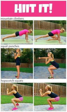 HIIT It - Tabata Style Workout | Bumble Bee®
