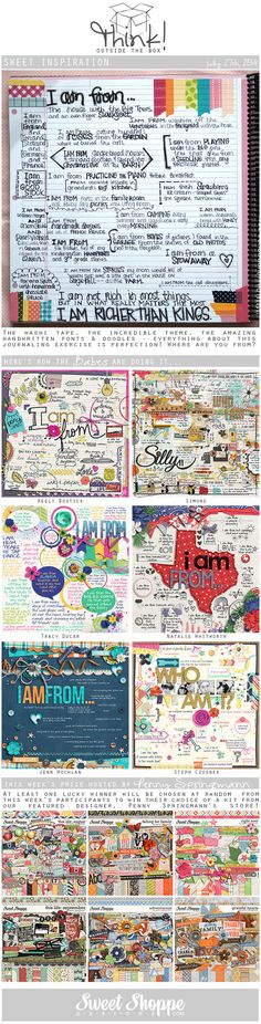 Looking for a fresh new take on a scrap challenge? Check out Sweet Shoppe Designs' Think Outside The Box challenge for July 27th and scrap along for your chance to win a kit from our Featured Designer's store and to start earning discounts every month!