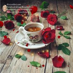 Turkish Coffee Beautiful Paintings Of Nature, Nature Paintings, Coffee Gif, Coffee Images, Blackberry Tea, Dream Images, Gif Photo, Good Morning Gif, Animation
