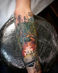 Canada Tattoo, Ewok, Watercolor Tattoo, Skull, Tattoos, Fangirl, Fan Girl, Watercolor Tattoos, Irezumi