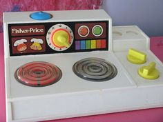 Fisher-Price stove top by Pour toujours..., via Flickr