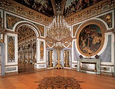 Hall of Peace  Herrenchiemsee New Palace