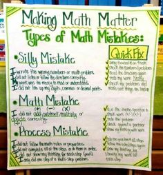 Making Math Matter
