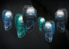 Avia Edition Exclusive Suspension Lamp - Italian Designer & Luxury Lighting at Cassoni Zaha Hadid Design, Zaha Hadid Architects, Luxury Italian Furniture, Industrial Design Furniture, Italian Lighting, Luxury Lighting, Suspended Lighting, Pendant Chandelier, Chandelier Lighting
