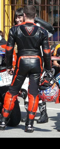 Biker Leather, Leather Men, Leather Pants, Motorbike Leathers, Motorcycle Suit, Black Men, Jacket Men, Skinny, Outfit