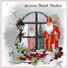 Carte Joyeuse Saint Nicolas, à imprimer, carterie Bilitis
