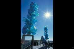 Chihuly Bridge of Glass. Downtown Tacoma. I love these, they're so pretty off of the freeway!