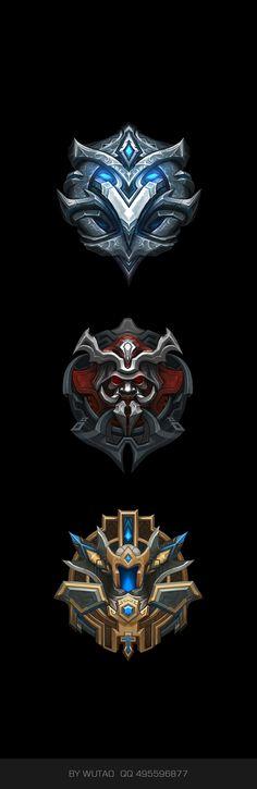 徽章设计tao Game Ui Design, Badge Design, Icon Design, Game Gui, Game Icon, 1 Symbol, Shield Design, Call Art, Larp