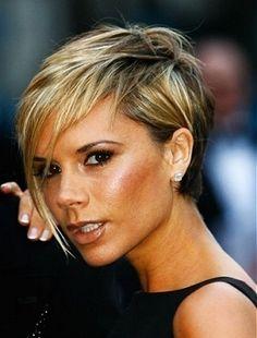 Spice Girls Hairstyles, Victoria Beckham