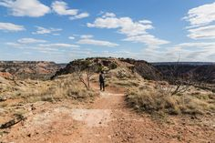 Hiking at Palo Duro Canyon State Park is such a beautiful experience! #roadesque From Roadesque.