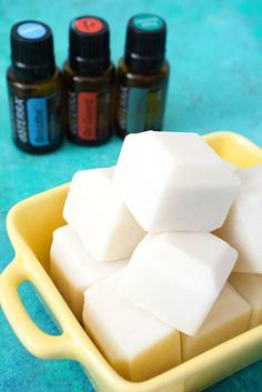DIY Chest Rub Bars are a healthy all-natural remedy for coughing and congestion - made with coconut oil, beeswax, shea butter and essential oils.