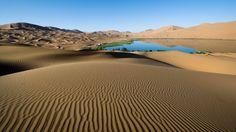 desert, sand, patterns - http://www.wallpapers4u.org/desert-sand-patterns/