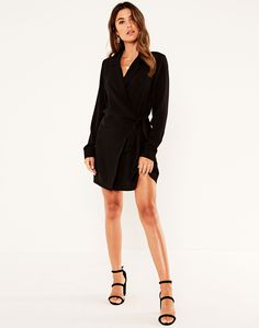 Dress For Short Women, Short Dresses, Dresses For Work, Blazer Dress, Workwear, Party Dress, Rompers, Stuff To Buy, Outfits