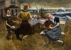 andrea kowch- One of my new favorite artists