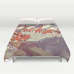 Fisher Fox Duvet Cover