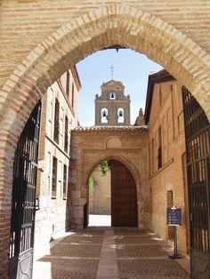 Convento de Santa Clara -Tordesillas, donde Doña Juana pasó recluída la mayor parte de su vida.