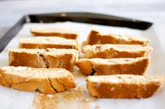 paleo honey almond biscotti. deeelish! just made it. didn't have ...
