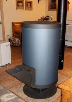 Super efficient wood stove.