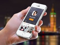 Meet&Eat Profile Screen