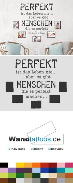 Wall Decal Photo Frame Life is never perfect - Fotorahmen Wandtattoos - Wooden House Decoration, Decoration Table, Facebook Party, Décor Boho, Childhood Days, Brain Teasers, Decor Crafts, Home Decor, Style Vintage