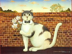 Cat Paintings by Donna Masters Kriebel (Vol.1)  - Funny Cats - Cat Paintings by Donna Masters Kriebel 5
