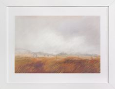 """Amber Waves"" - Art Print by Lorent and Leif in beautiful frame options and a variety of sizes."