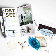 Memory keeping with Traveller's Notebook and Keepsake Envelopes by: Scrapmanufaktur