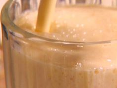 Peach Pie Smoothie.  I really want to find more smoothie recipes to try.  I probably need a better blender though.