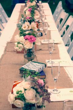 Tablescape, The 1909, Flowers by: Charis Events & Design, Wedding Planner: Charis Events & Design - California Wedding http://caratsandcake.com/angeliaandarnold