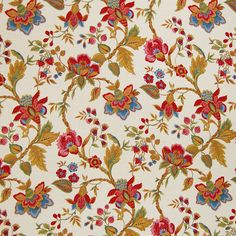 Document by Greenhouse Ethnic Patterns, Textile Patterns, Textile Prints, Print Patterns, Floral Prints, Islamic Art Pattern, Pattern Art, Greenhouse Fabrics, Greek Pattern