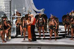 Flash Gordon, Dale Arden, Prince Vultan in Sky City 1980's Movies, Movie Tv, Ornella Muti, Max Von Sydow, Timothy Dalton, Flash Gordon, Famous Stars, Animated Cartoons, Sci Fi Art