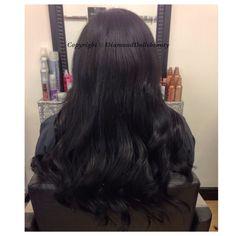 Weave by Diamond Dolls Beauty using Remi cachet luxury hair