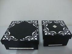 artemcasa : caixas preto e branco