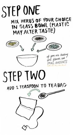 How To Make Your Own Homemade Tea