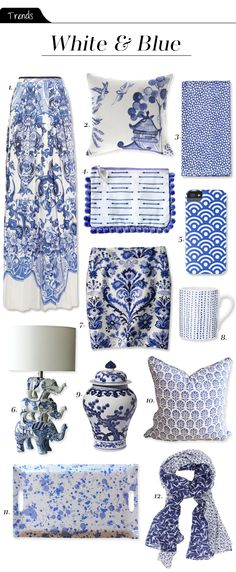 The Vault Files: Trends File: White & Blue