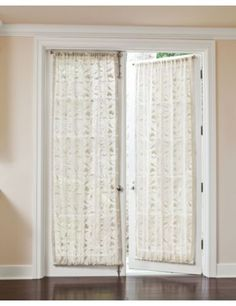 Drapery and Curtain Hardware, Curtain Rods and Rings for Your Curtains and Drapes @ Smith & Noble - Smith & Noble Custom Curtains, Sheer Curtains, Bay Window Treatments, Country Style Curtains, Smith And Noble, Rod Pocket Curtains, Drapery Hardware, Window Dressings, Eclectic Style