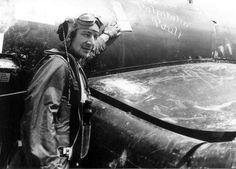 """Capt Floyd Kirkpatrick VMF-441 Ace By F4U-1D Corsair named """"Palpitatin Pauli"""""""