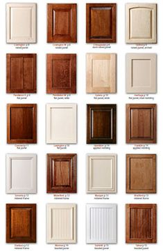 Kitchen Cabinet Door Styles Kitchen cabinets | kitchens | Pinterest ...