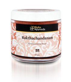 Rakthachandanam - skin rejuvanating powder  http://www.biphaayurveda.com
